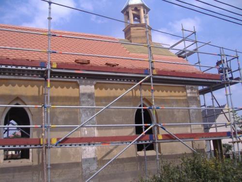 Kaplička - rekonstrukce